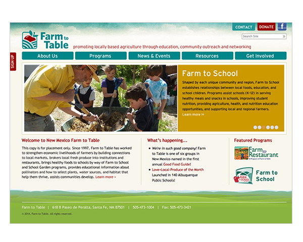 Farm to Table Website